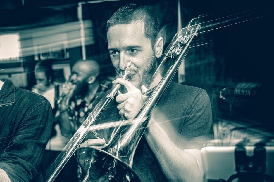 Édouard Touchette à la trompette
