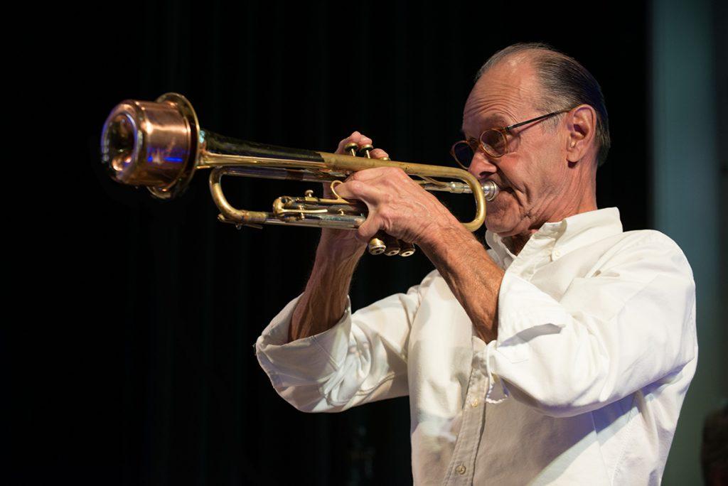 Marc Bolduc et trompette