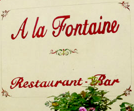 Restaurant à La Fontaine